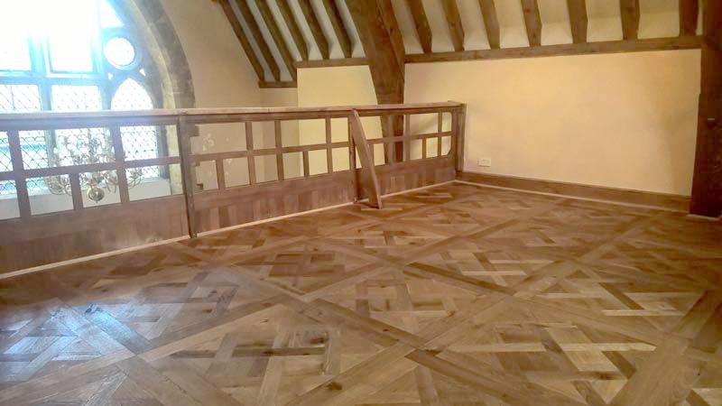 Hardwood floor refurbishment - after