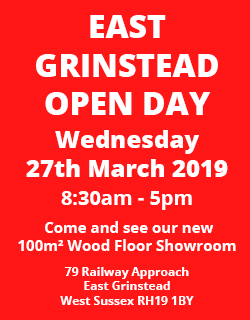 East Grinstead Open Day 27th March 2019, 8.30am-5pm
